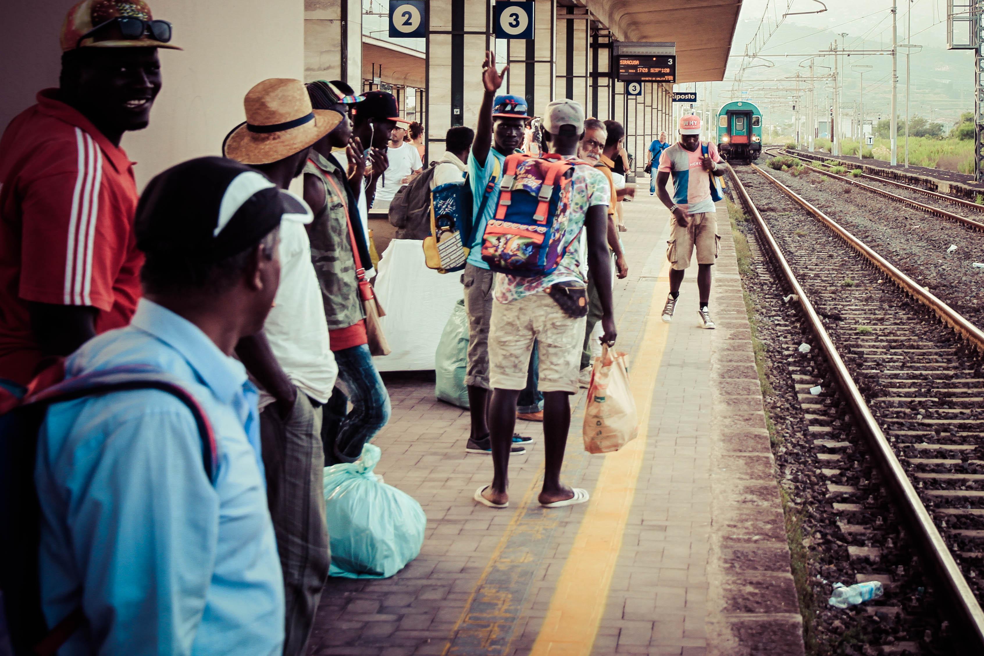 Voyage en train Vers Syracuse