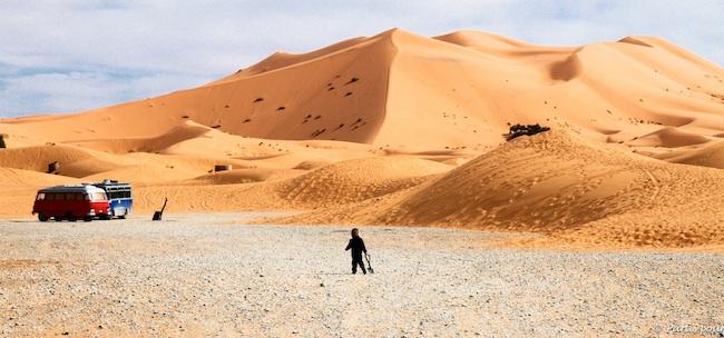 Dunes de l'Erg Chebi, Merzouga, Maroc