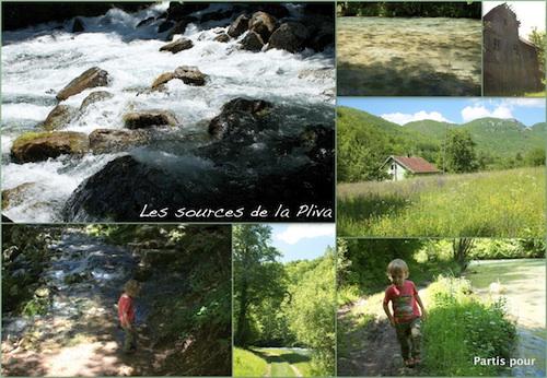 Sources de la Pliva, Bosnie-Herzégovine