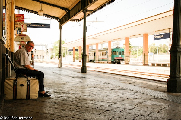 Gare de Syracuse, Sicile