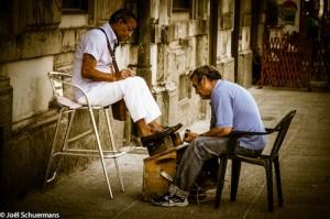 Dans les rues de Naples