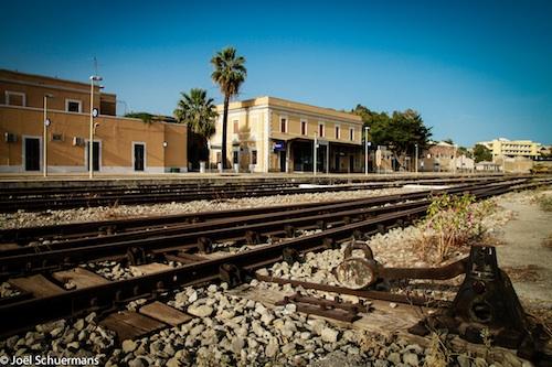 Gare de Noto, Sicile