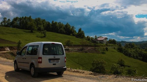 Itinéraire d'un road trip en Bosnie