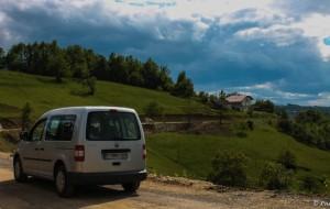 Sur la route près de Todorovo, Bosnie-Herzégovine