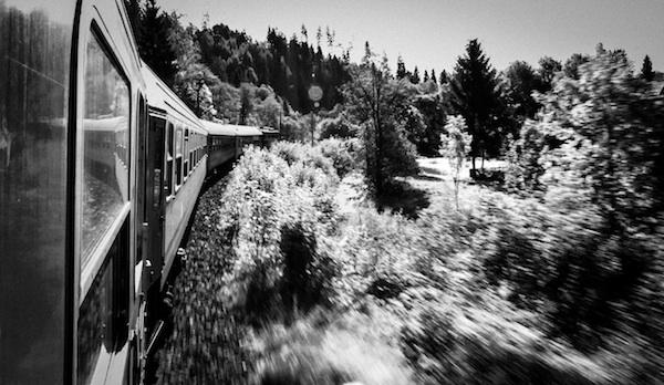 Dans le train vers Zakopane