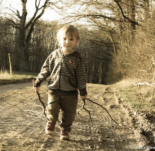 Sacha dans les bois, Deulin