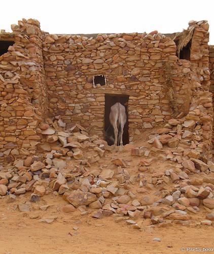 Dans les rues de Chinguetti, Mauritanie