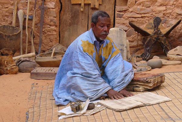 Bibliothèque Fondation Ahmed Mahmoud, Chinguetti, Mauritanie