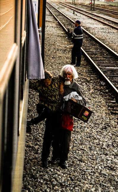 Voyage en train Vers Sarajevo