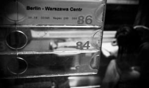 Voyage en train Vers Varsovie