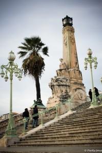 Escalier Gare Saint-Charles Marseille