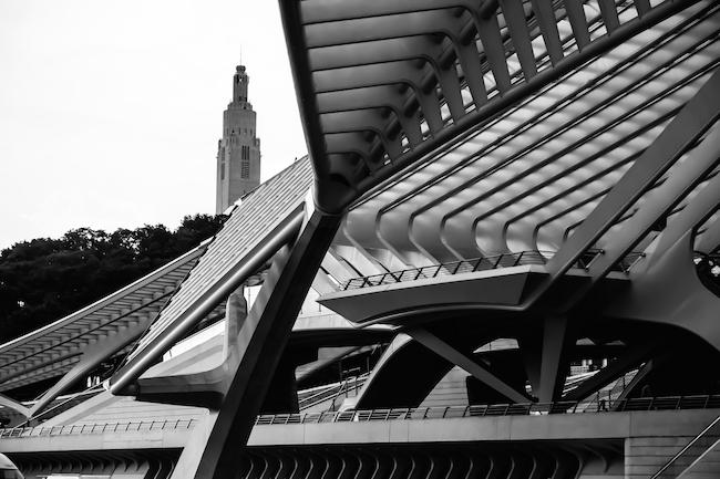Gare des Guillemins Calatrava Liège