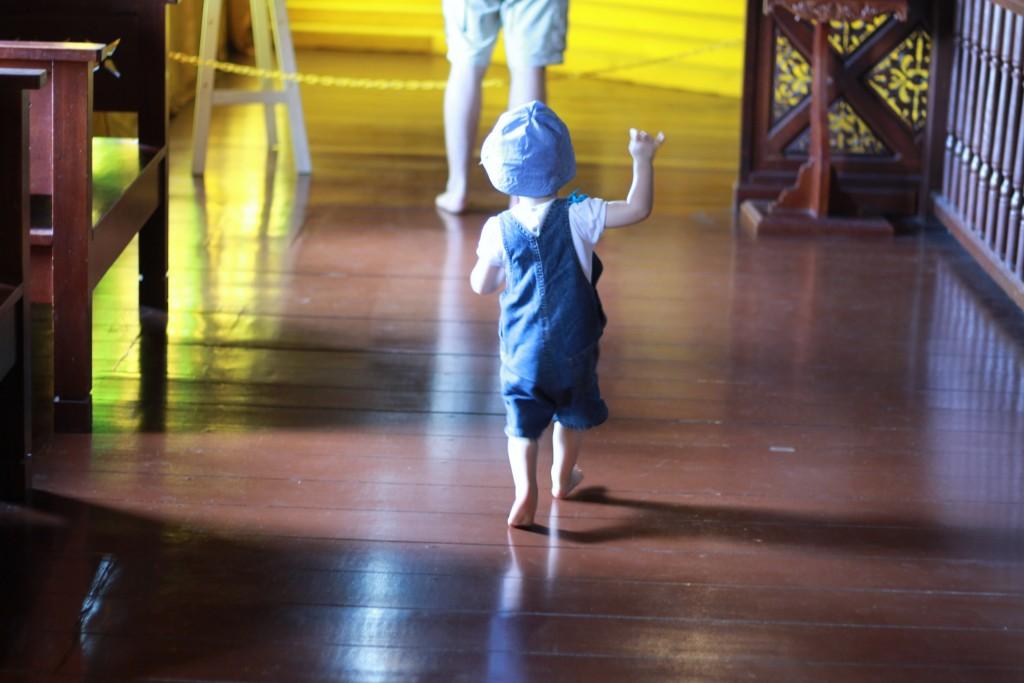Musée avec un enfant