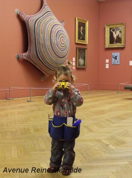 Musée avec un enfant Manchester Avenue Reine Mathilde