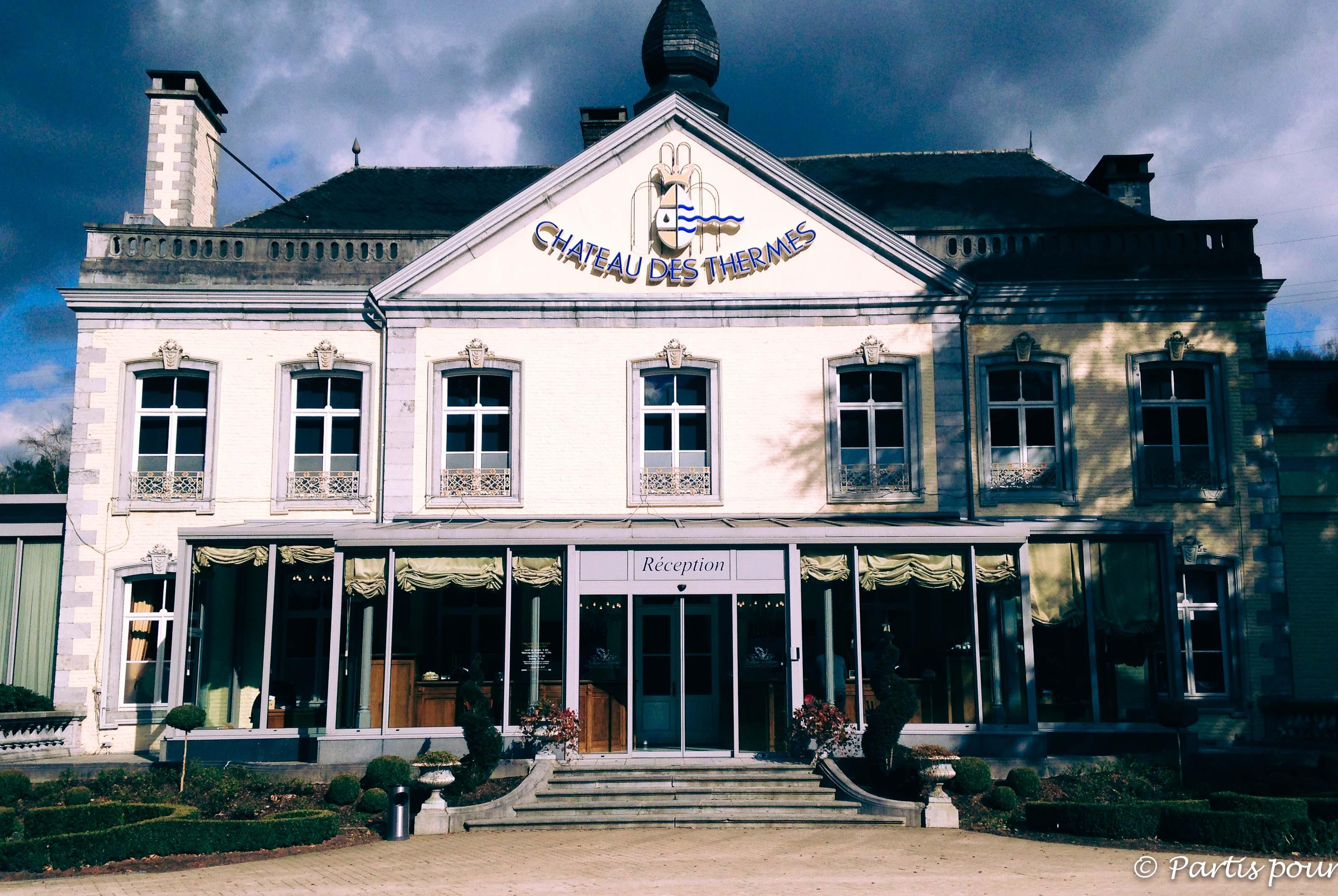 Petits plaisirs de mars Château des Thermes Chaudfontaine