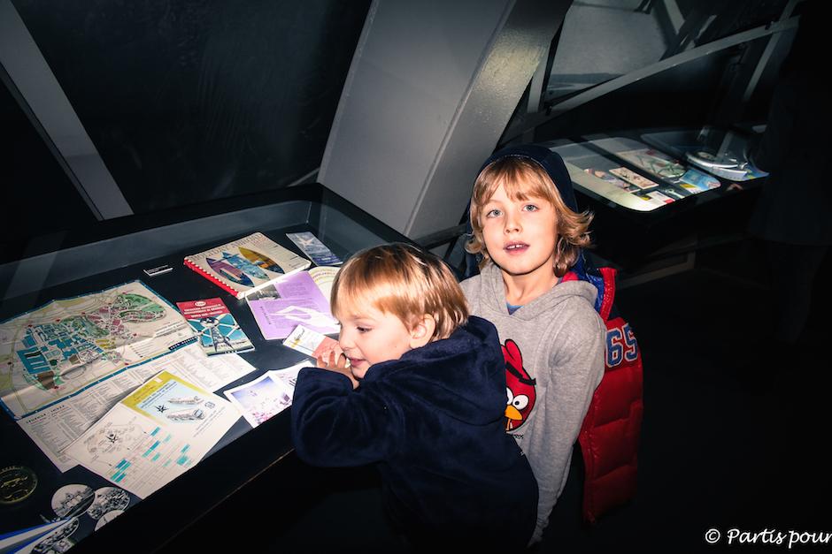 Musée avec un enfant Atomium Bruxelles