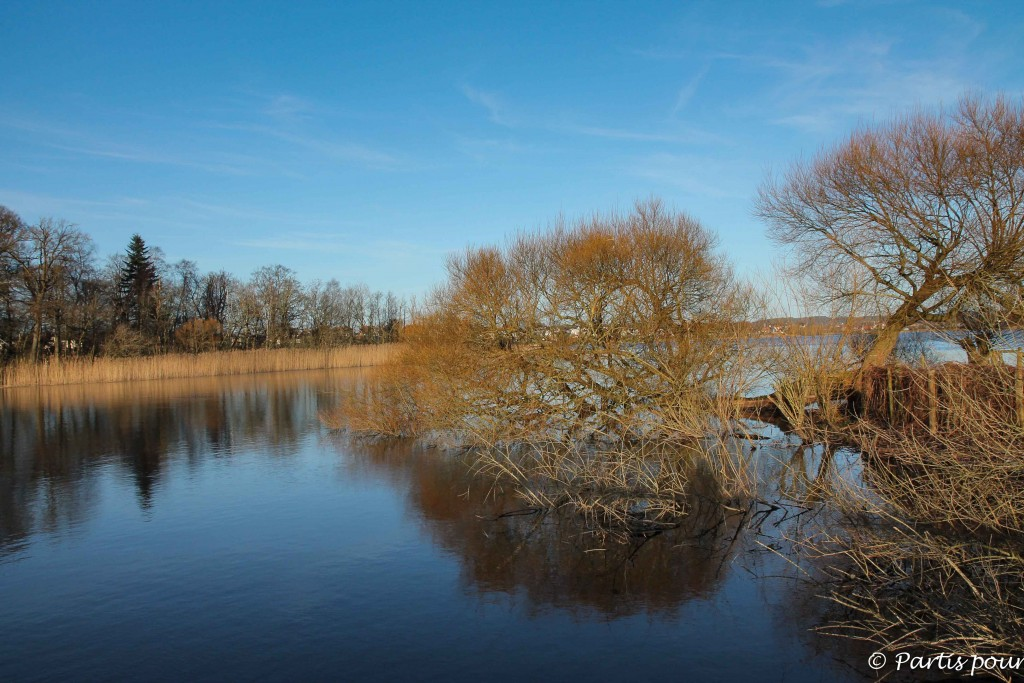 Lac de Silkeborg, Danemark