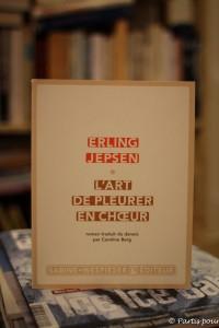 Lectures danoises Erling Jepsen, L'art de pleurer en choeur