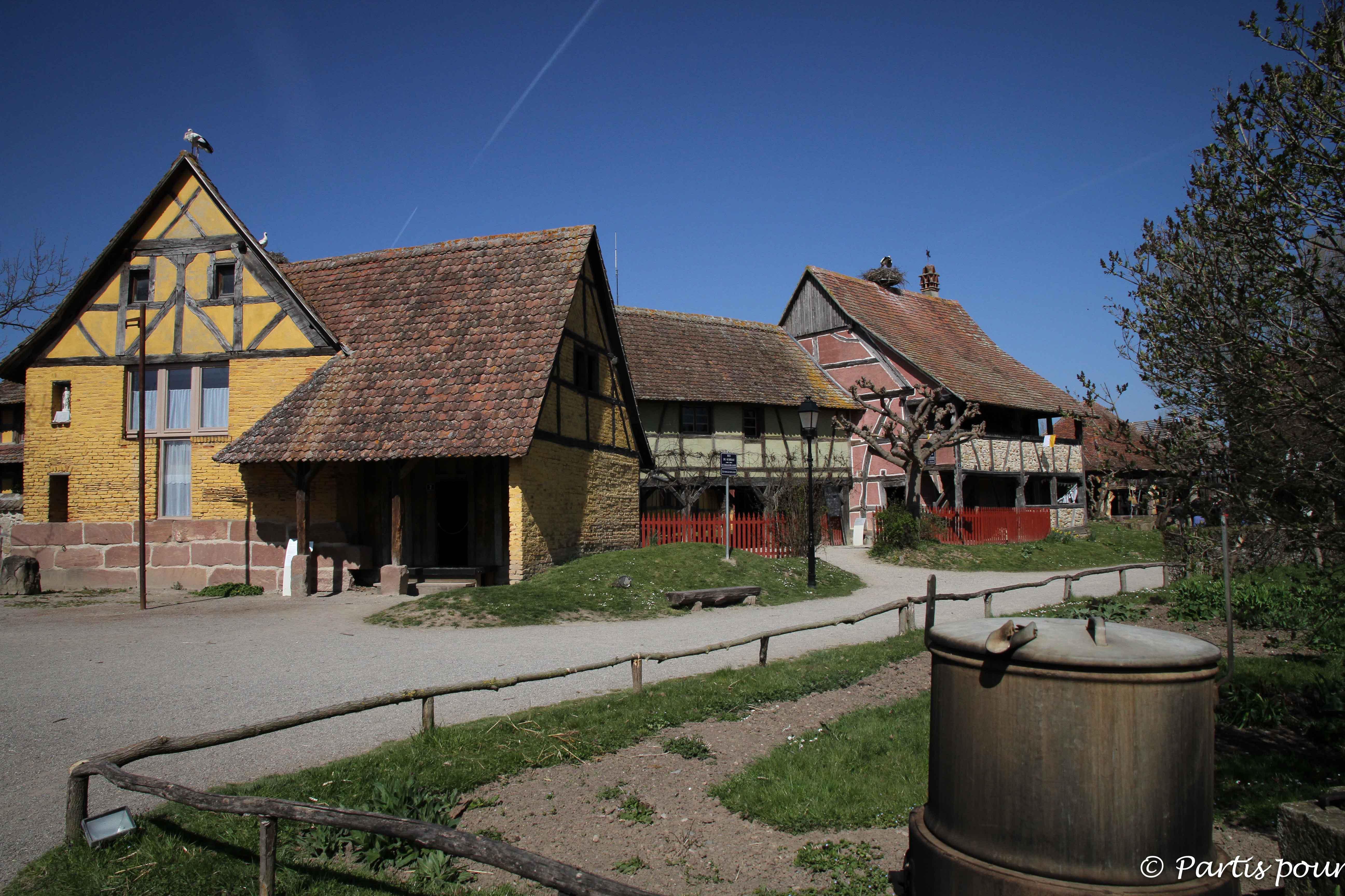 L'Alsace en famille à l'écomusée d'Alsace