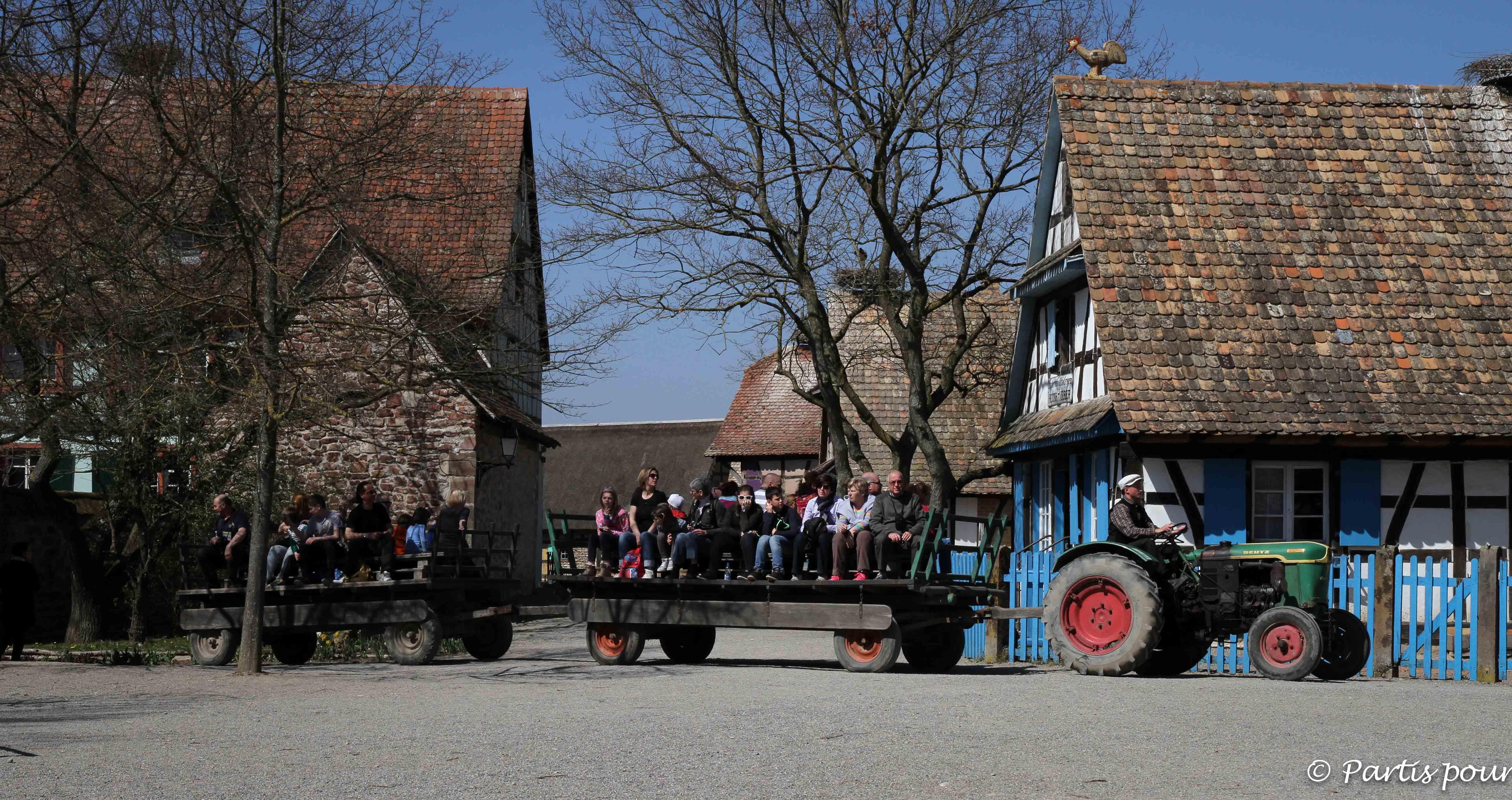 Le temps d'un week-end en Alsace en famille