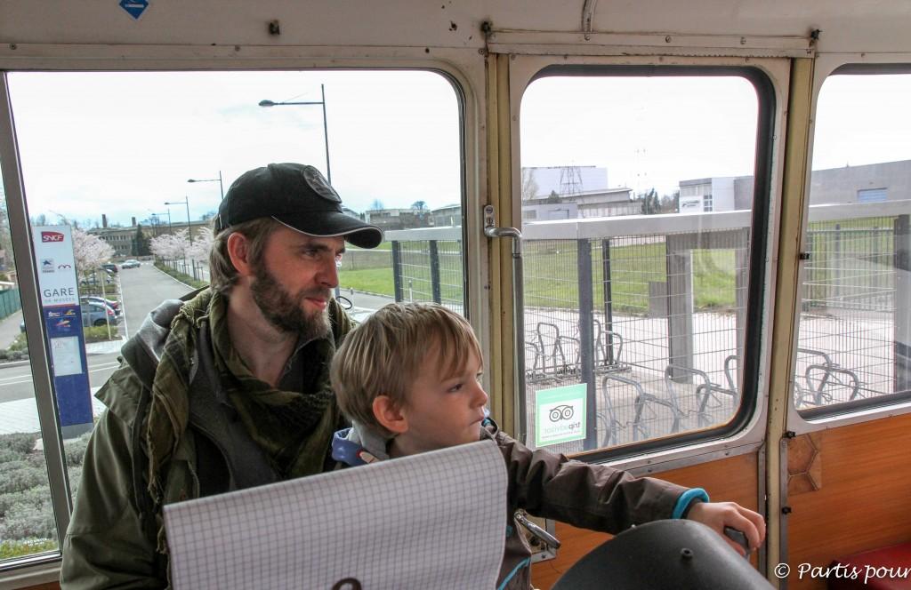 Conduire la draisine de la Cité du Train - L'Alsace en famille