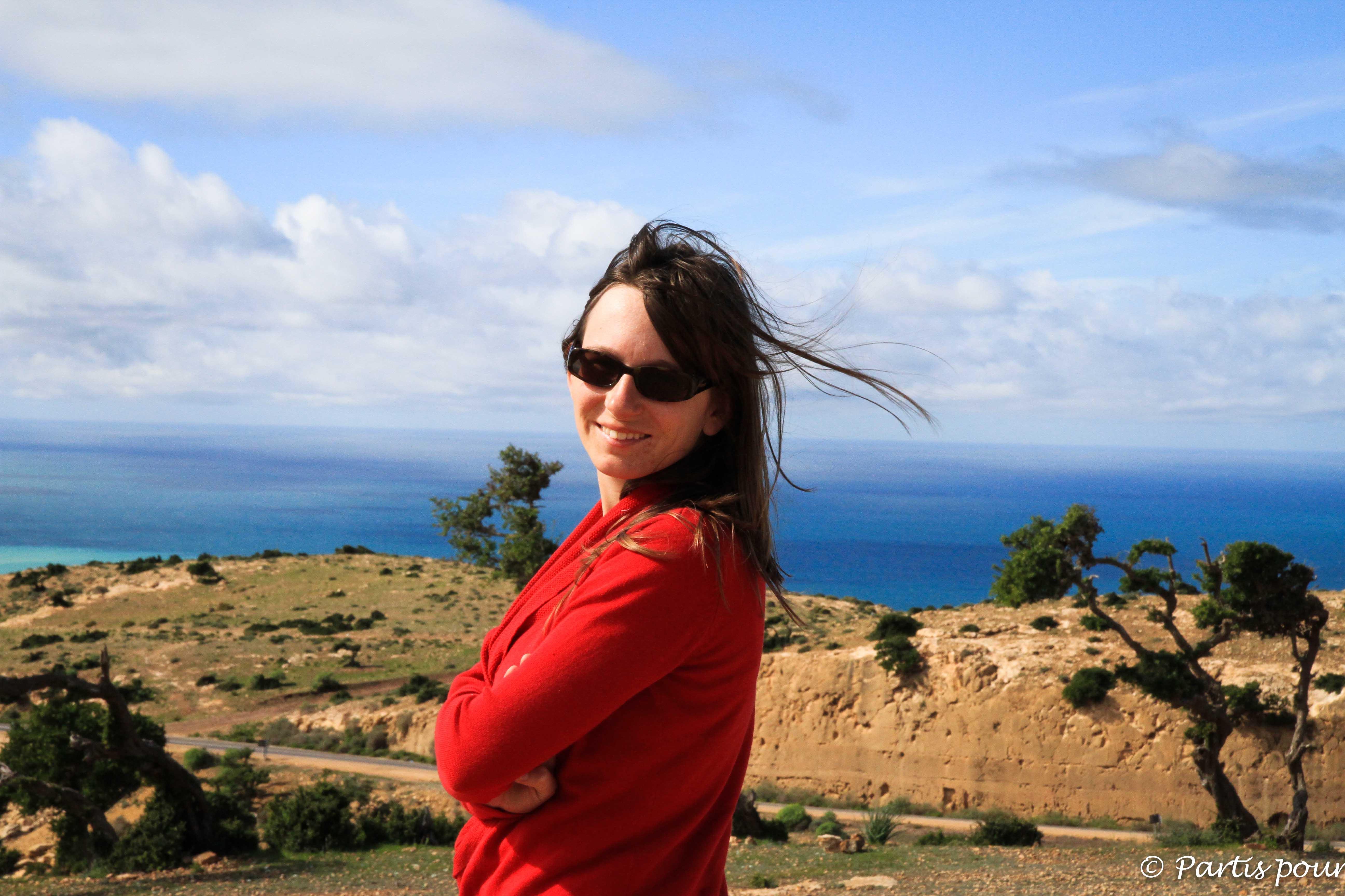 Sur la route vers Agadir, Maroc