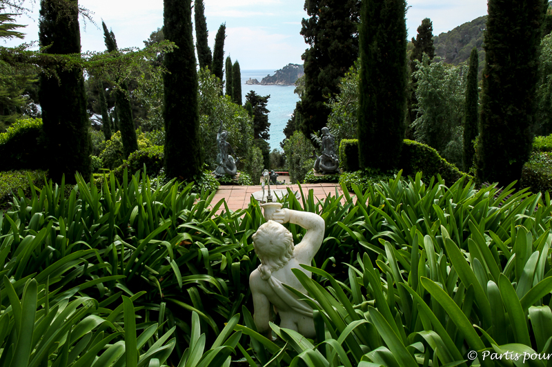 Jardins de Santa Clotilda, Lloret de Mar, Costa Brava, Espagne