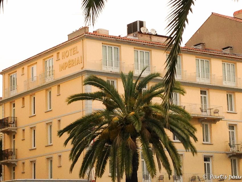 Hôtel Impérial Salon Blogueurs Voyage Ajaccio