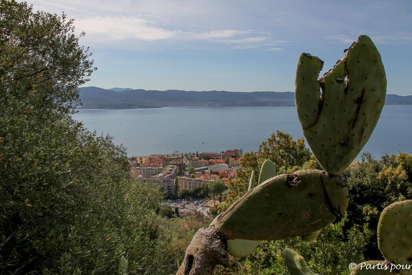Du haut du bois des Anglais sur le Sentier des Crêtes Ajaccio Couleur Corse Salon Blogueurs Voyage