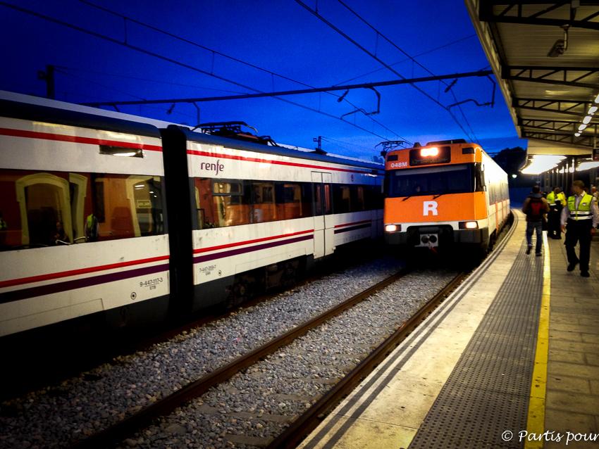 Prendre le train de Blanes pour rejoindre le Salon des Blogueurs de Voyage à Ajaccio