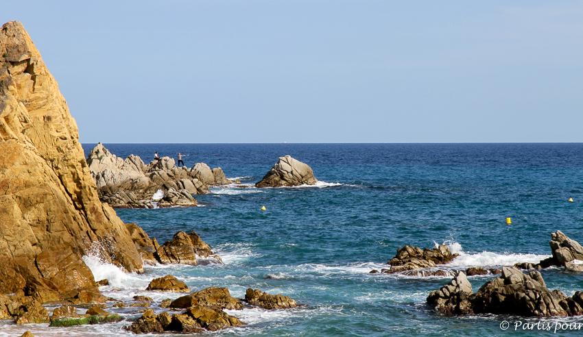 Sur le GR92 Costa Brava Lloret de Mar TBEX