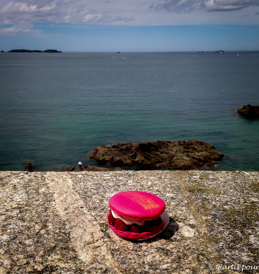 Macaron Romy, Macaron Simon. Bonnes adresses à Saint-Malo
