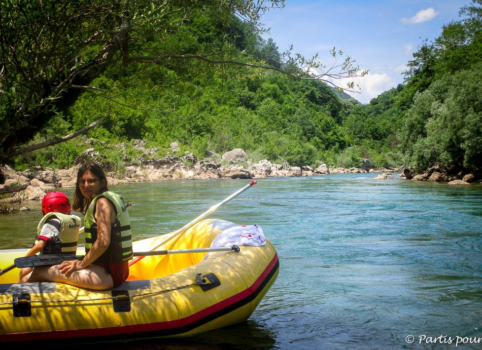Rafting sur la Neretva, Bosnie-Herzégovine