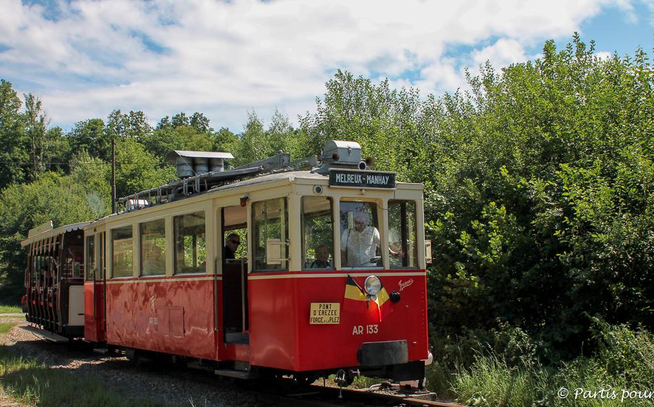 Tramway Touristique de l'Aisne Erezée-Manhay