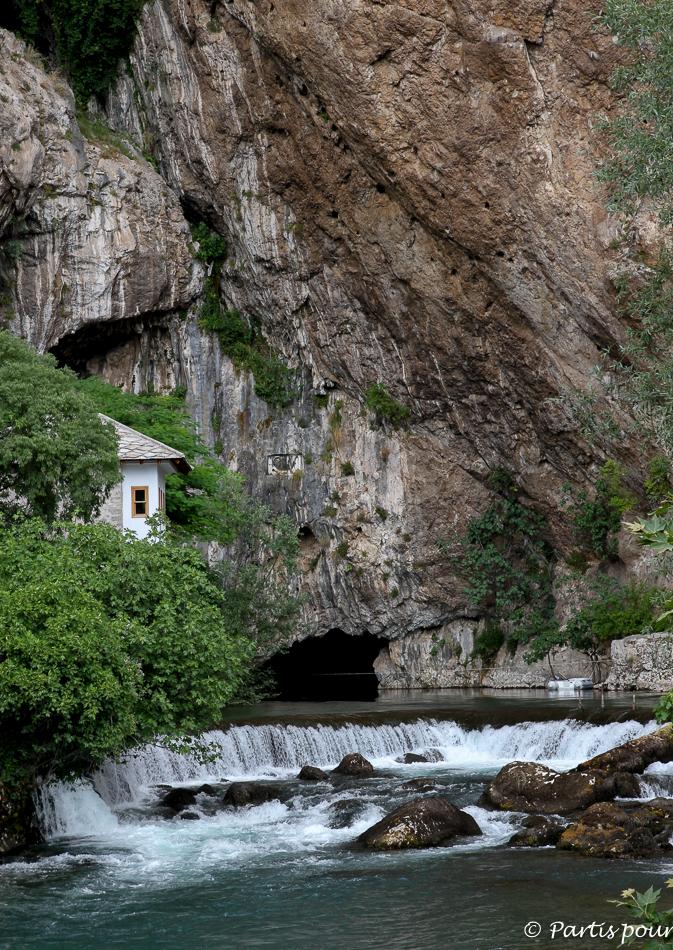 Source de la Buna, Blagaj, Bosnie-Herzégovine. Cinq jours sur les routes de l'Herzégovine