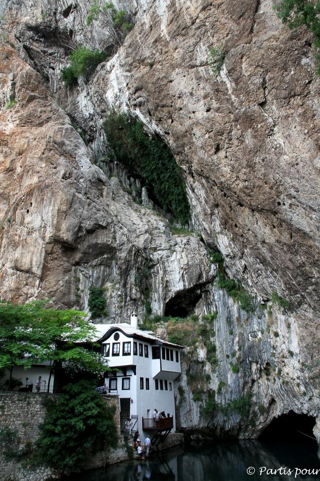 Tekija et Source de la Buna, Blagaj, Bosnie-Herzégovine. Cinq jours sur les routes de l'Herzégovine