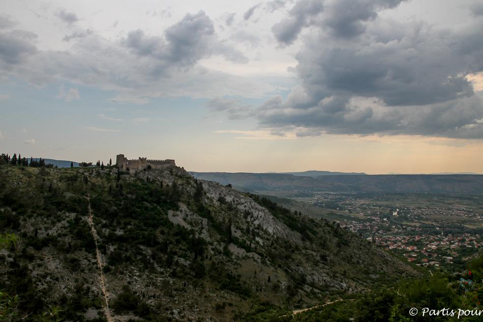 Forteresse Herceg Stjepan, Blagaj, Bosnie-Herzégovine. Cinq jours sur les routes de l'Herzégovine