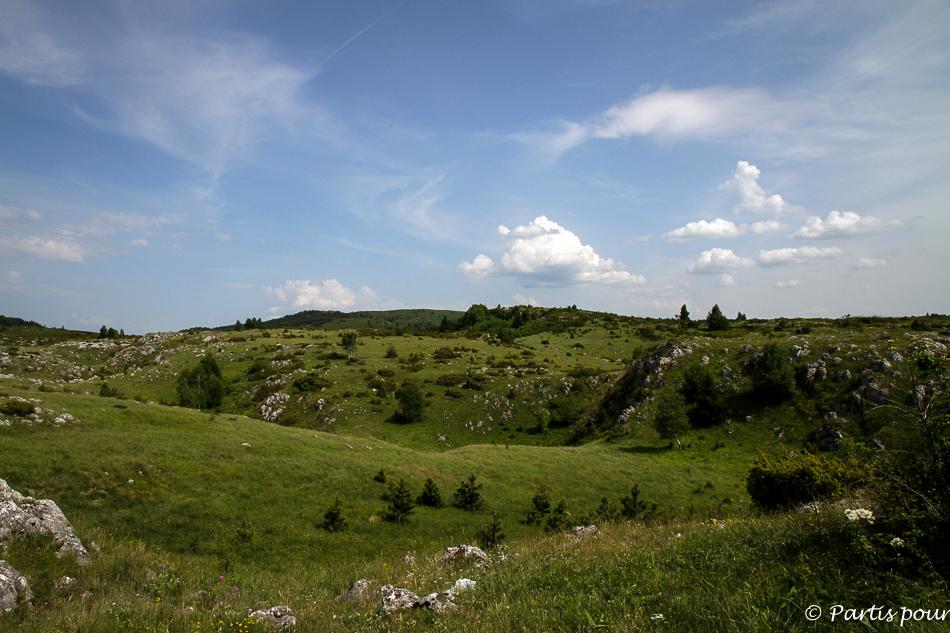 Cinq jours sur les routes de l'Herzégovine.