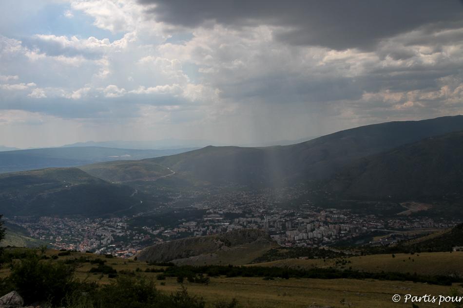 Vue sur Mostar, Bosnie-Herzégovine. Cinq jours sur les routes de l'Herzégovine