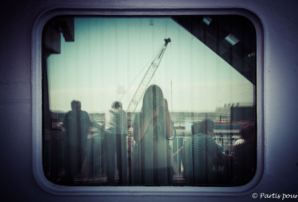 King Seaways, Traversée Amsterdam - Newcastle, DFDS Seaways