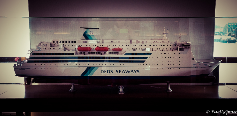Maquette DFDS Seaways