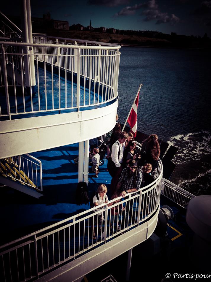 Arrivée Newcastle, Traversée Amsterdam - Newcastle, DFDS Seaways