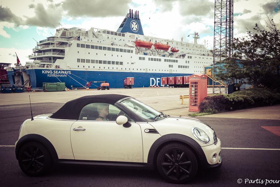 D'Amsterdam à Newcastle avec des enfants sur le King Seaways