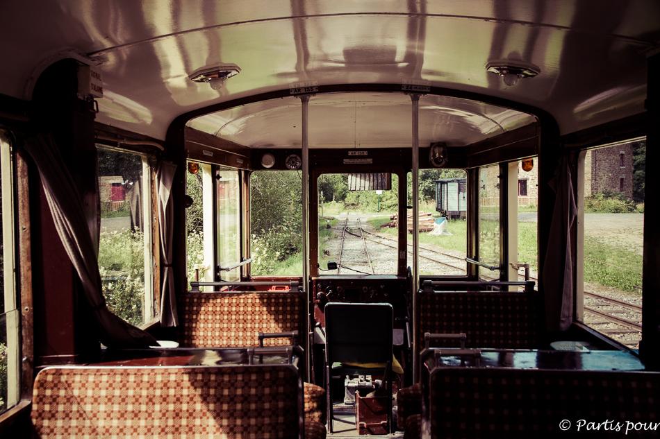 Tramway touristique de l'Aisne, Erezée. Petits plaisirs de l'été.
