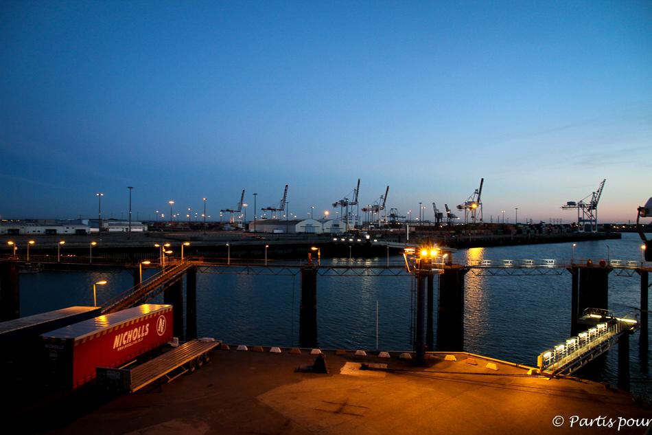 Arrivée à Dunkerque, Traversée Douvres - Dunkerque, DFDS Seaways