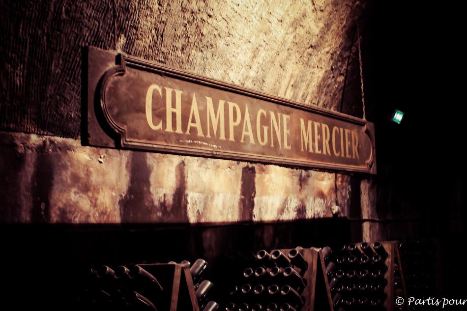 Cave Mercier, Epernay, France. Petits plaisirs d'été