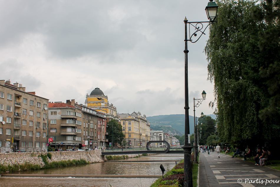 Trois semaines à Sarajevo