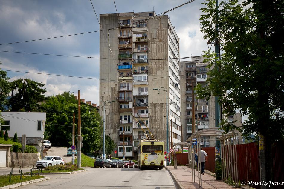 Trolley Bus. Trois semaines à Sarajevo
