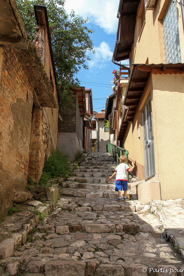Sur les collines de Sarajevo. Trois semaines à Sarajevo