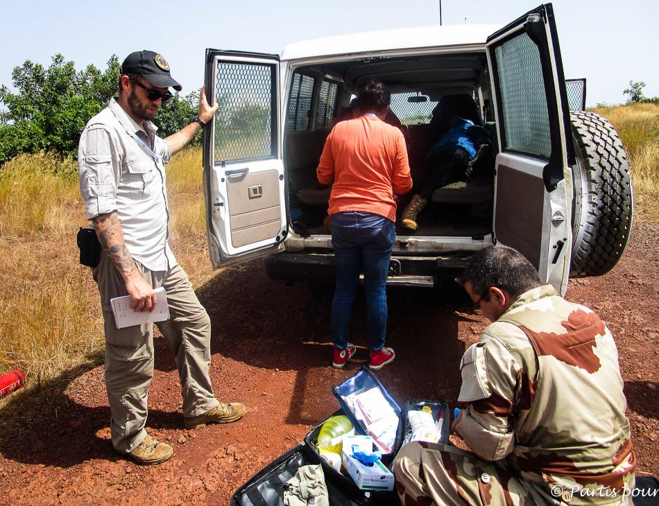 En mission au Mali